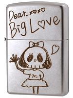 【受注限定品】早川まいデザインZIPPO「Big Love」シリアルナンバー入り (購入特典付き)