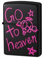 ファニースカル「GO TO HEAVEN」(ブラック)