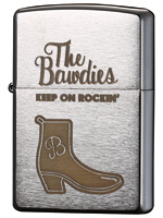 THE BAWDIES ORIGINAL Zippo【BOOTS DESIGN】シリアルナンバー入り